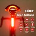 Новинка 2020, задние фонари для велосипеда ENFITNIX XlItET, интеллектуальный датчик, стоп-сигналы usb xlite100, задние фонари для дорожного велосипеда, гор...