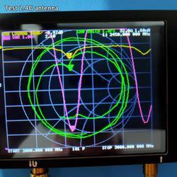 50 кГц-3 ГГц векторная сетевая антенна коротковолновый анализатор 2,8