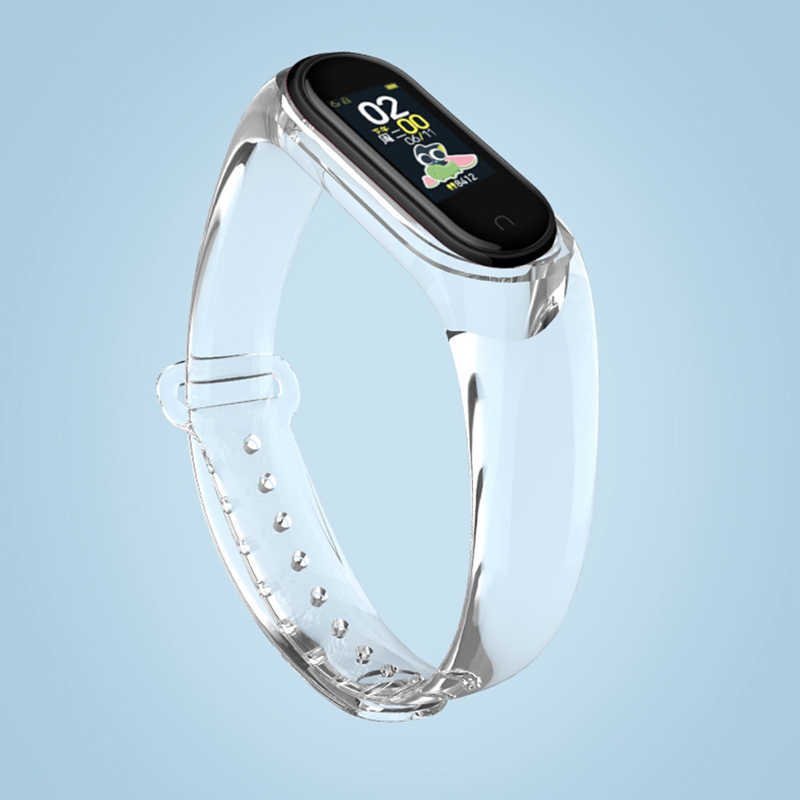 Band Voor Xiaomi Mi Band 4 Band 5 3 Band Transparante Siliconen Armband Voor Xiomi Mi Band5 4 3 Miband 5 Correa Band Smart Accessories Aliexpress