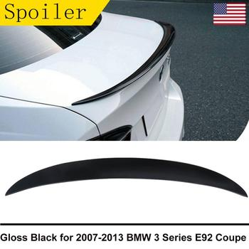 MagicKit Gloss Black For BMW 3 Series E92 M Performance Style Rear Boot Trunk Spoiler Lip BIG PROMOTION US STOCK image