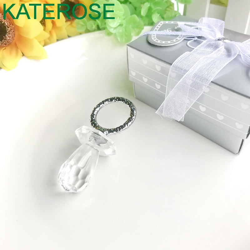 Christening gift New born gift Baby pacifier holder Silver plated pacifier clip Baby gift Baby shower gift Silver Pacifier clip