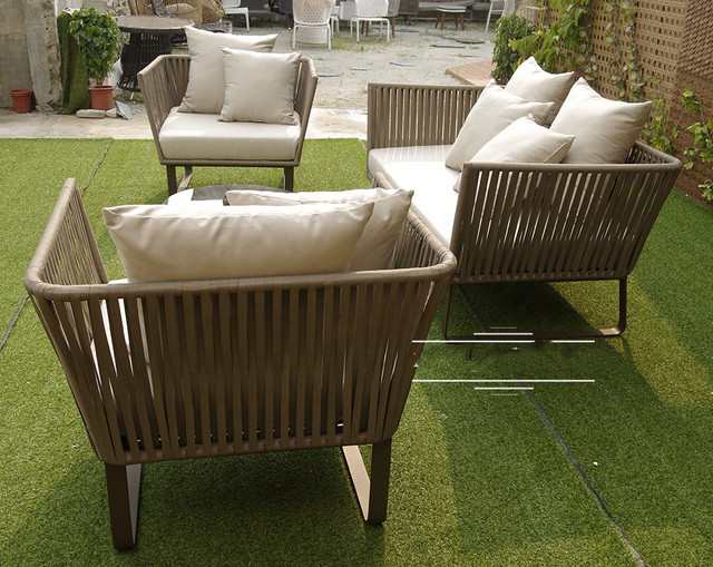outdoor furniture set with rope and