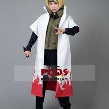 Лучший Наруто Namikaze Минато желтый костюм косплей флэш Косплей Костюм mp004065