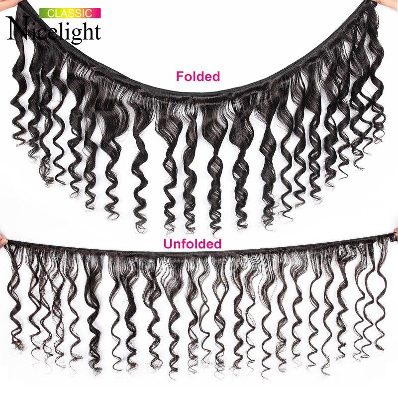 Image 2 - Peruvian Loose Wave Black Bundles Human Hair Weave Nicelight 1 Bundle Hair Weave Single Bundles 1/3/4 Bundle Deals Hair Vendors-in Hair Weaves from Hair Extensions & Wigs