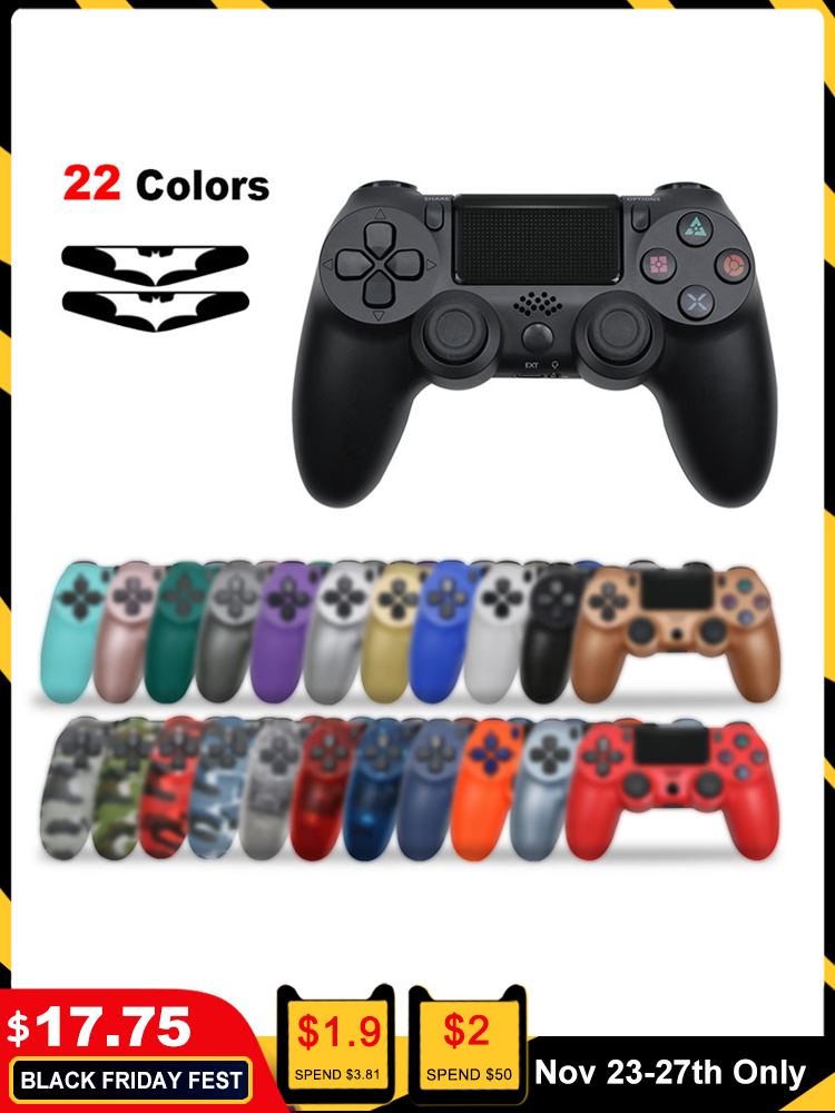 Bluetooth Wireless Joystick for PS4 Controller Fit For mando ps4 Console For Playstation
