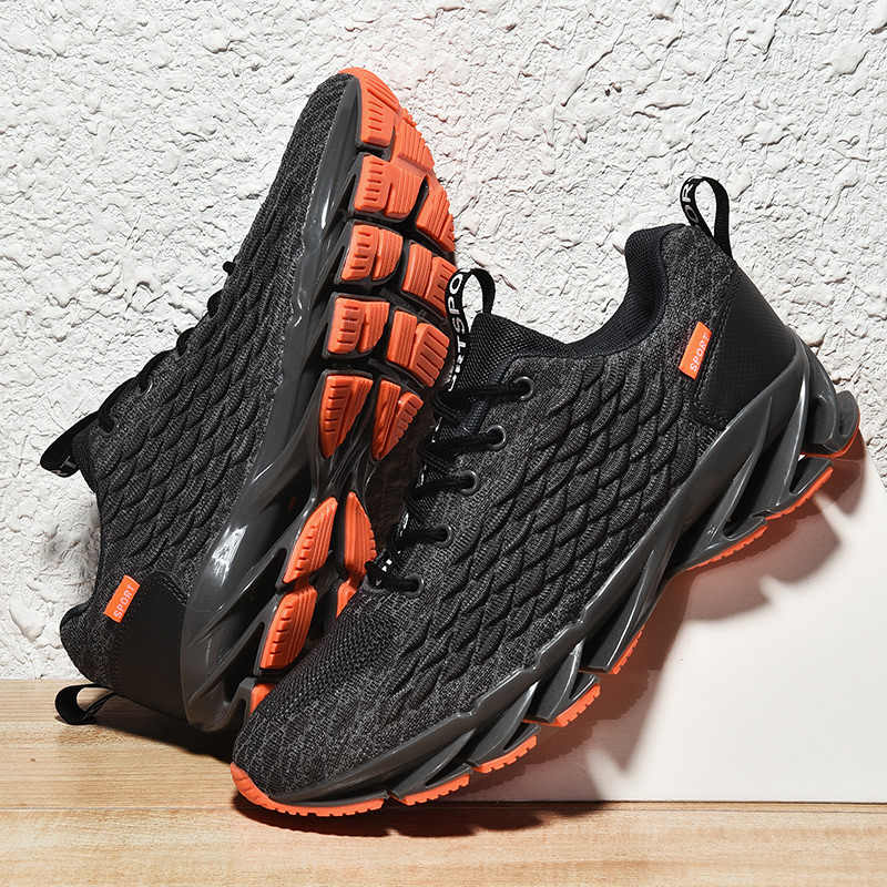 Men Mesh Casual Shoes Lace Up New 2019