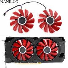 เส้นผ่านศูนย์กลาง 85 มม.RX 570 RS RX 580 RS FD10U12S9 C สำหรับ XFX RX570 ฿ RX580 ฿กราฟิกการ์ด Cooling เช่นเปลี่ยนพัดลม