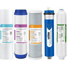 Cartridge-Set FILTER REVERSE-OSMOSIS-FILTER-REPLACEMENT Water-System for Under-Sink Complete