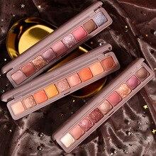 Makeup-Palette Eyeshadow Diamond-Shadow-Kit Glitter Smoky Pigment Shimmer Matte Shine
