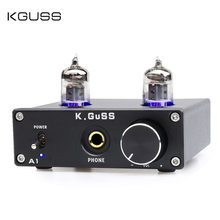 NE5532P Tube Amplifier Fever 6K4 Tube Pure Bile Amp Hifi Vacuum Tube Headphone Amplifier DC12V1A Support PC DVD CD DAC PHONE(China)