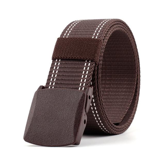 Plastic Buckle Nylon Casual Tactical Belt 2