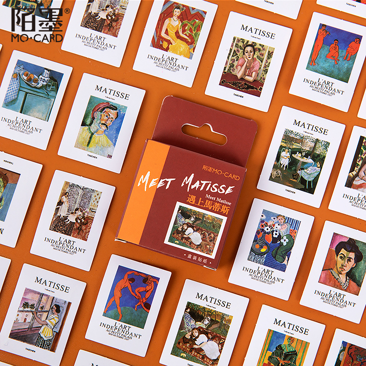 Matisse Magazin45Pcs \DIY CreativePersonality Sticker Magazine Album Diary Calendar Scrapbook Student Stationery Office Supplies