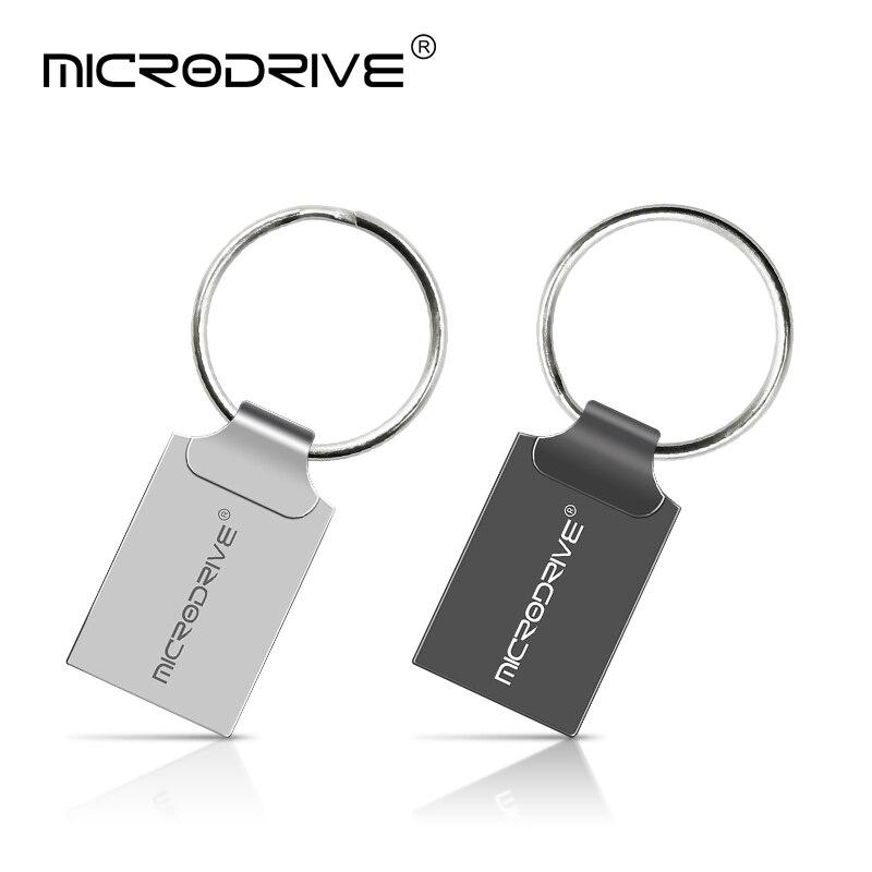 Gran oferta, unidad Flash Mini USB, memoria Usb de 64gb, memoria usb de 4gb, 8gb, 16GB, 32gb, memoria USB + llavero Dispositivo de seguimiento en tiempo real localizador de rastreador GPS de coche cargador de coche Dual USB voltímetro ligero compacto ahorro de espacio portátil