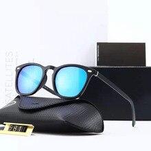 Aluminum Magnesium HD Polarized Sunglasses Men Women Driving Glasses Luxury Brand Designer TR90 Square Goggle Gafas De Sol 581