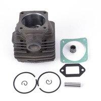 Alta qualidade kit de pistão do cilindro 48mm para stihl 034 034av 034 super 036 ms360 motosserra