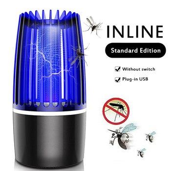 Magia USB electrónica LED fotocatalizador Anti-mosquito lámpara mata insectos LED insecticida repelente de plagas de la luz