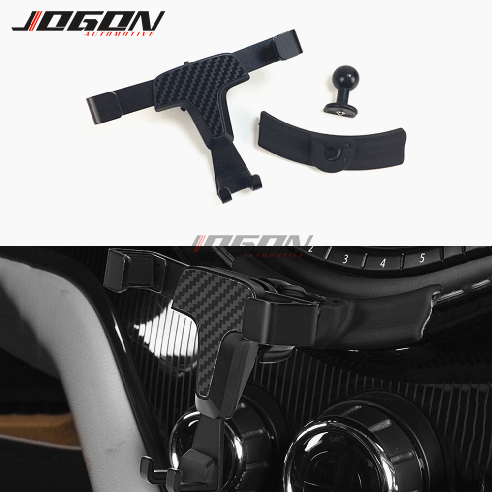 For Mini Cooper ONE JCW F54 F55 F56 F60 Clubman Countryman Car Central Console Cradle Cell Phone Holder Support Stand Mount|Universal Car Bracket| |  - title=
