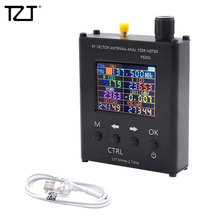 TZT N1201SA+ 35MHz   2.7GHz UV RF Antenna Analyzer SWR Meter Tester with Aluminum Alloy Shell PS100/PS200
