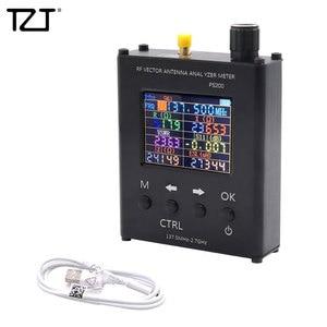 Image 1 - TZT N1201SA + 35MHz   2.7GHz UV RF anten analizörü SWR metre test cihazı alüminyum alaşım kabuk ile PS100/PS200