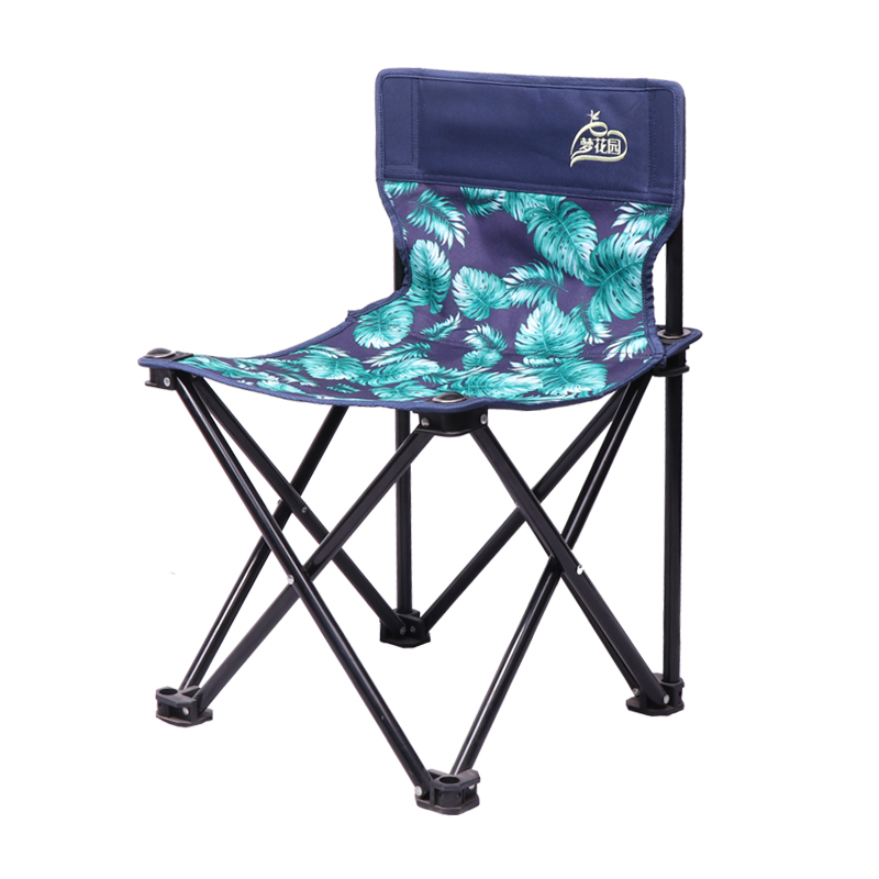 Camping Chair Portable Backrest Fishing Stool Folding Mazar Ourdoor Sketching Bench Silla Plegable Silla Plegable Kamp Sandalyes