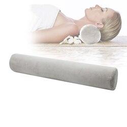 Ergonomiczna konstrukcja poduszka do spania kryształowa aksamitna rolka tkaniny nietoperz z pianki Memory Snap Design zapobieganie bólowi szyjki macicy zdrowa poduszka na łóżko w Poduszki ortopedyczne od Dom i ogród na