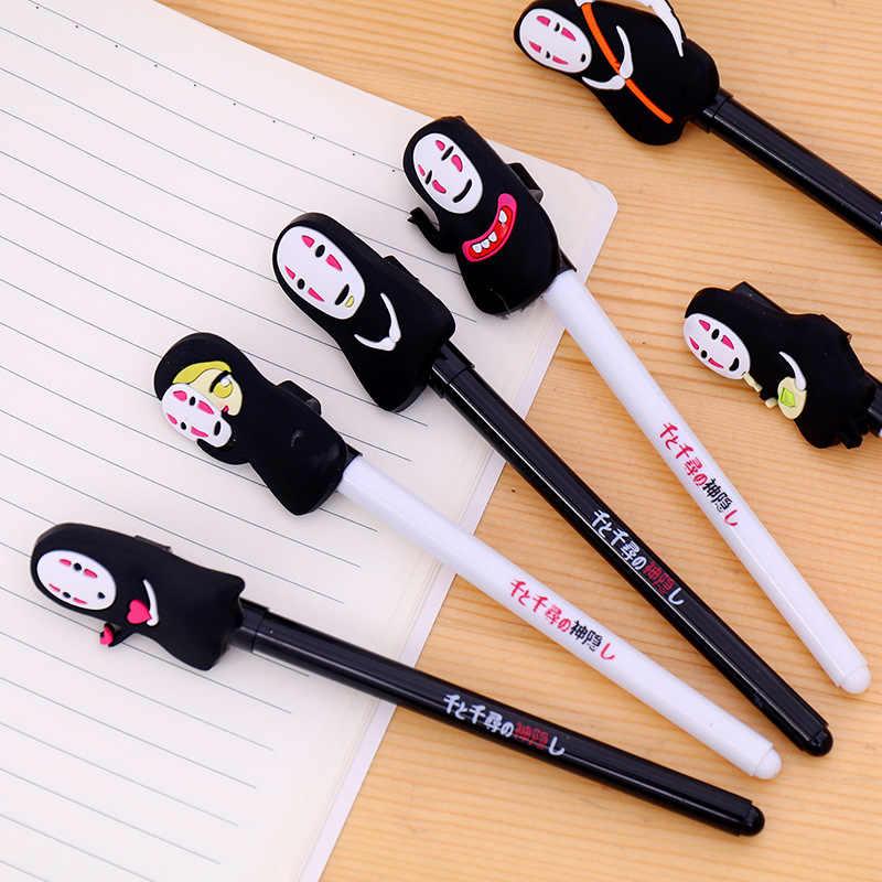 קוריאני מכתבים חמוד ג 'ל אנימה ניטראלי עט יצירתי עט קריקטורה האדם חסר כתיבה ציוד כלים סיטונאי
