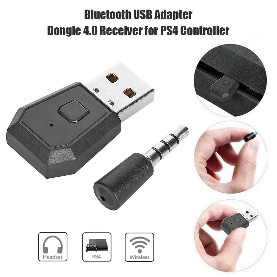 Mini Usb Bluetooth 4 0 Headset Dongle Usb Wireless Headphone Adapter Receiver For Sony Playstation 4 Ps4 For Bluetooth Headsets Usb Receiver Adapter Aliexpress