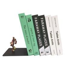 Креативная Подставка для книг Marvel Железный человек металлические настольные подставки держатель для книг офисные школьные канцелярские принадлежности подарок студентам украшение дома