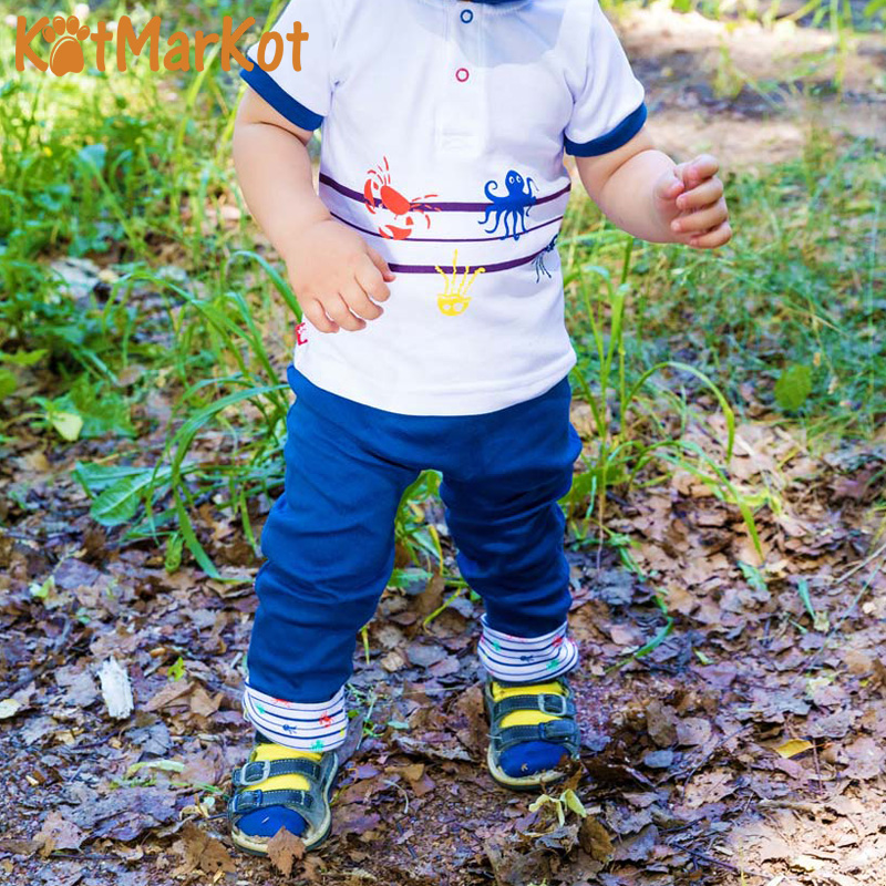 Фото - Pants & Capris Kotmarkot 75104 baby  childhood newborn clothes sliders footies Cotton Baby Boys pants baby shaluni