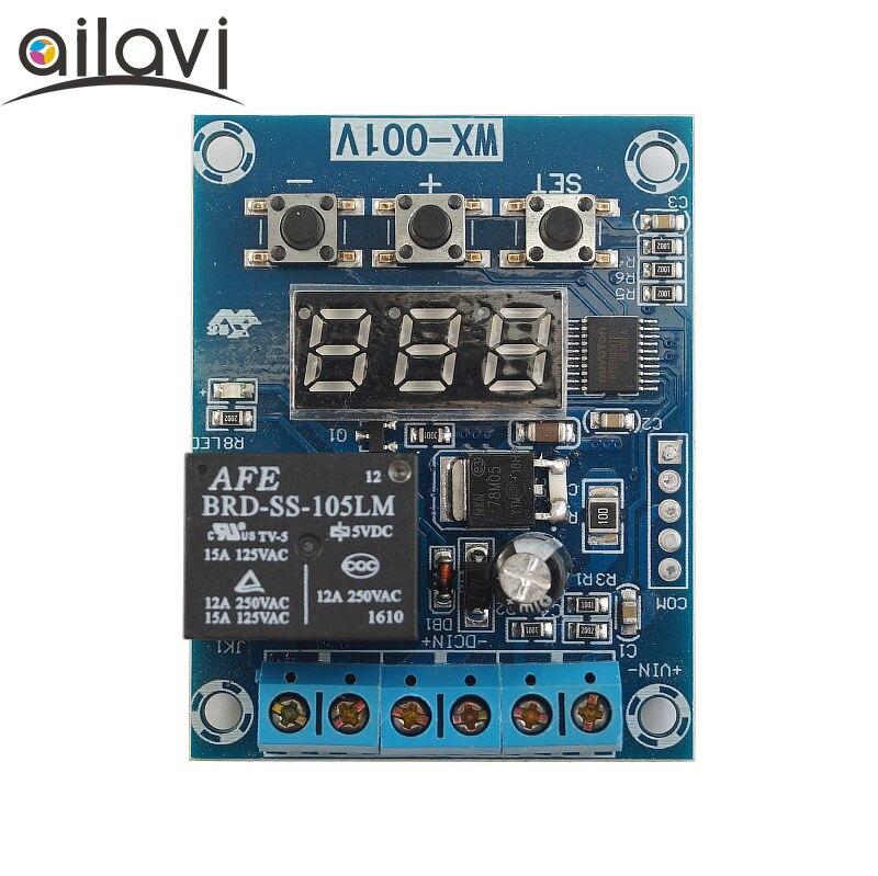 Обнаружение ограничения напряжения верхний и нижний модуль управления 10A контроль заряда и разряда батареи DC5V12V24V источник питания