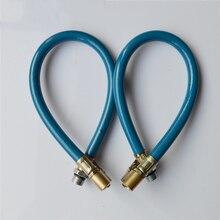 1 шт. автомобильный измеритель давления в шинах, воздушный насос для шин, резиновый шланг, ручные инструменты, автомобильный шланг для трубных фитингов