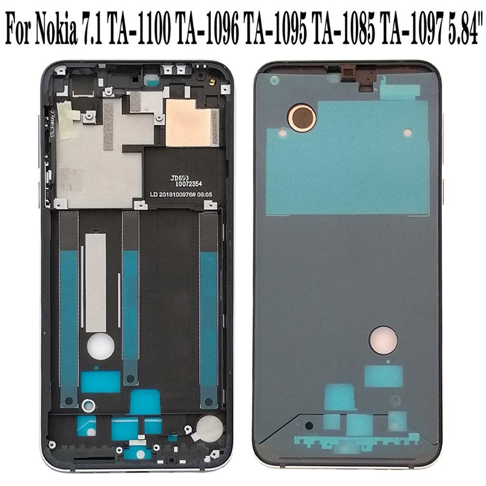 "Shyueda 100% Orig New 5.84"" For Nokia 7.1 TA 1100 TA 1096 TA 1095 TA 1085 TA 1097 Front Middle Housing Frame Bezel|Mobile Phone Housings & Frames|   - title="