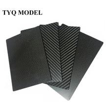 200x250mm 3K Carbon Fiber  sheet  100%Pure Carbon Board 1mm 2mm 3mm 4mm 5mm Thickness Carbon Fiber Material For RC UAV/Toys цена