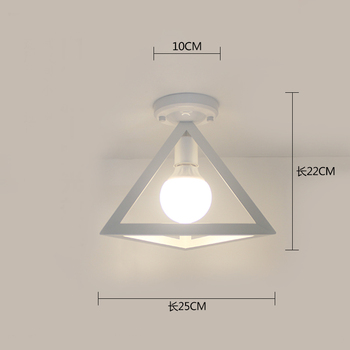 Ceiling light ceiling lamp iron living room lights modern deco salon for dining room hanging led light fixtures surface mounted 11