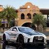 1:32 닛산 스카이 라인 Ares GTR R34 R35 다이 캐스트 및 장난감 차량 금속 장난감 자동차 모델 높은 시뮬레이션 당겨 컬렉션 키즈 완구