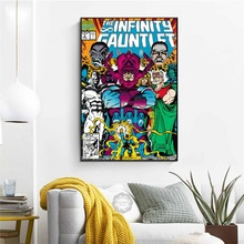 Classic Comics Book Cover Marvel Secret Wars Age of Apocalypse Civil War Art Painting Silk Canvas Poster Wall Home Decor