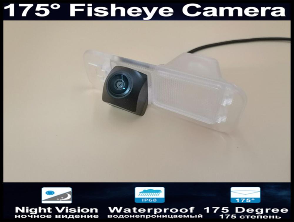 175 Degree 1080P Fisheye Lens Car Rear view Camera for Kia K2 Rio Sedan 2011 2012 2013 2014 2015 Reverse Parking Car Camera