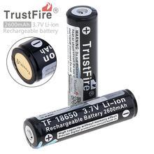TrustFire Protected 18650 2600mAh 3.7V Lithium Bat