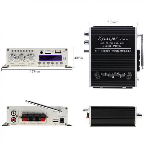 bluetooth amplificador de potencia audio carro