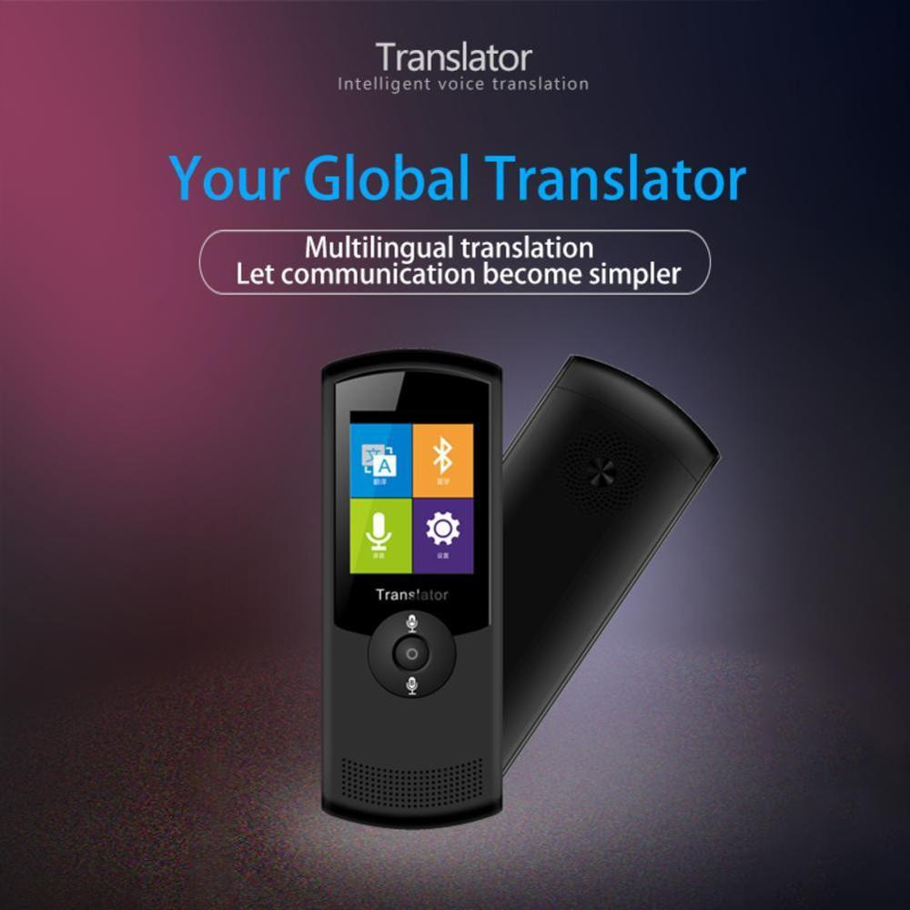 Multi taal Voice Vertaler, Instant Smart Vertaling Apparaat Voor Internationale Reizen - 4