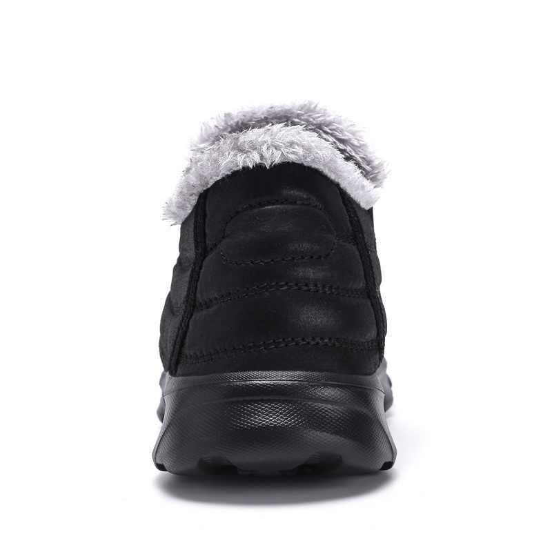 Times New Roman schnee stiefel männer wasserdichte Unisex winter stiefel Mit Pelz Beiläufige Warme schuhe slip-beständig Männer Stiefel plus größe