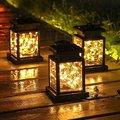 1 шт. солнечный светильник на открытом воздухе лампы в форме свечи Фонари солнечный светильник светодиодный лампы Двор Путь Канава сад зонт...