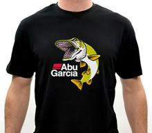 Begrenzte ABU GARCIA FÜR LEBEN Fisch Logo Design Herren T-Shirt Größe S-5XLShort Hülse Casual, Angemessener Großhandel t shirt