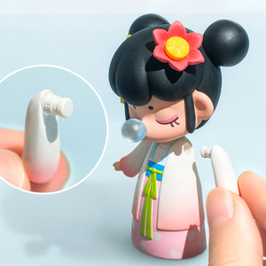 Image 4 - Robotime caja ciega East Asia Palace Action Unboxing Toys figura modelo muñecas exótico regalo especial para niños, niños, adultos
