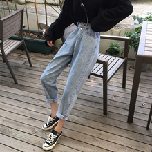 2019 Vintage Jeans for Women High Waist Skinny Stretch Jeans Blue Casual Pencil Trousers Denim Pants spring skinny pencil jeans women slim high waist elastic jeans female blue vintage skinny denim pants lift hip trousers femme