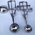 Кухонные принадлежности 4 см 5 см 6 см совок, стальные Пружинные инструменты для мороженого, Шариковая тарелка из нержавеющей стали, размер, а...
