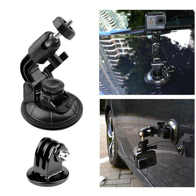 9 см Автомобильная присоска для GoPro Hero 7 6 5 4 3 аксессуары штатив адаптер держатель присоска Xiaomi Yi SJCAM SJ4000 Спортивная Экшн камера