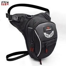 WOSAWE Motorcycle Drop Leg Bag Multifunction Travel Survival Backpack Waterproof Fanny Pack Cell Phone Purse Storage