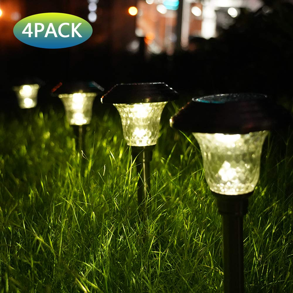 LED solar lawn lamps for garden decoration, outdoor path, waterproof LED solar powered lawn lights, street landscape patio lamp