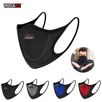 WOSAWE Motorcycle Reusable Face Mask Anti-pollution Dust Breathable Outdoor Sports Unisex Washable Motorcycle Protective Mask